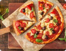 large pizza